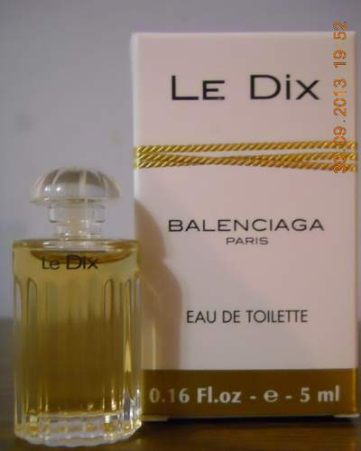 "Парфюм №20 ""Le Dix"" от Cristobal Balenciaga"