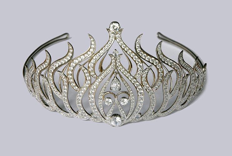 Как сделать платиновую корону 86