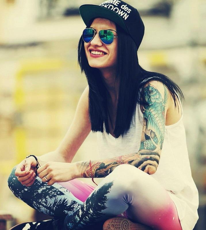 Татуировки на девушках