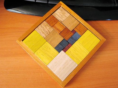 Занимательные головоломки №47 Римская мозаика