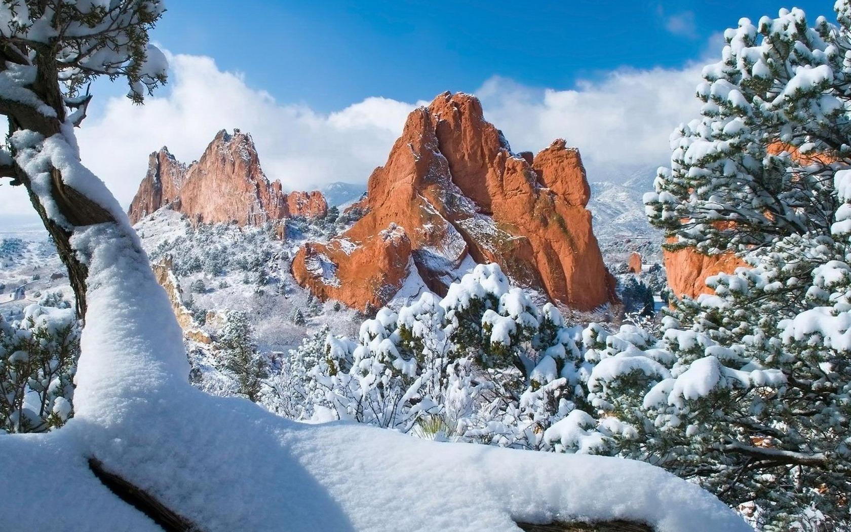 Картинки природы зимой на рабочий стол