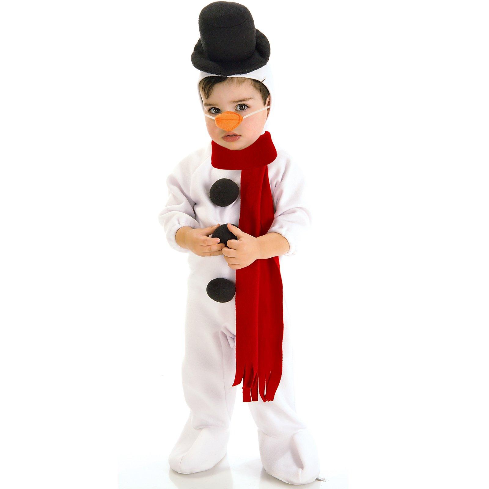 Маскарад снеговик своими руками