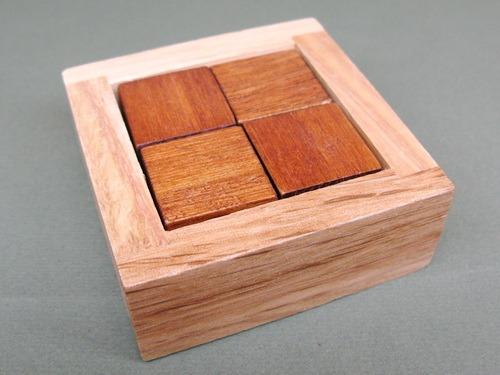 Занимательные головоломки №49 Кубики в перспективе