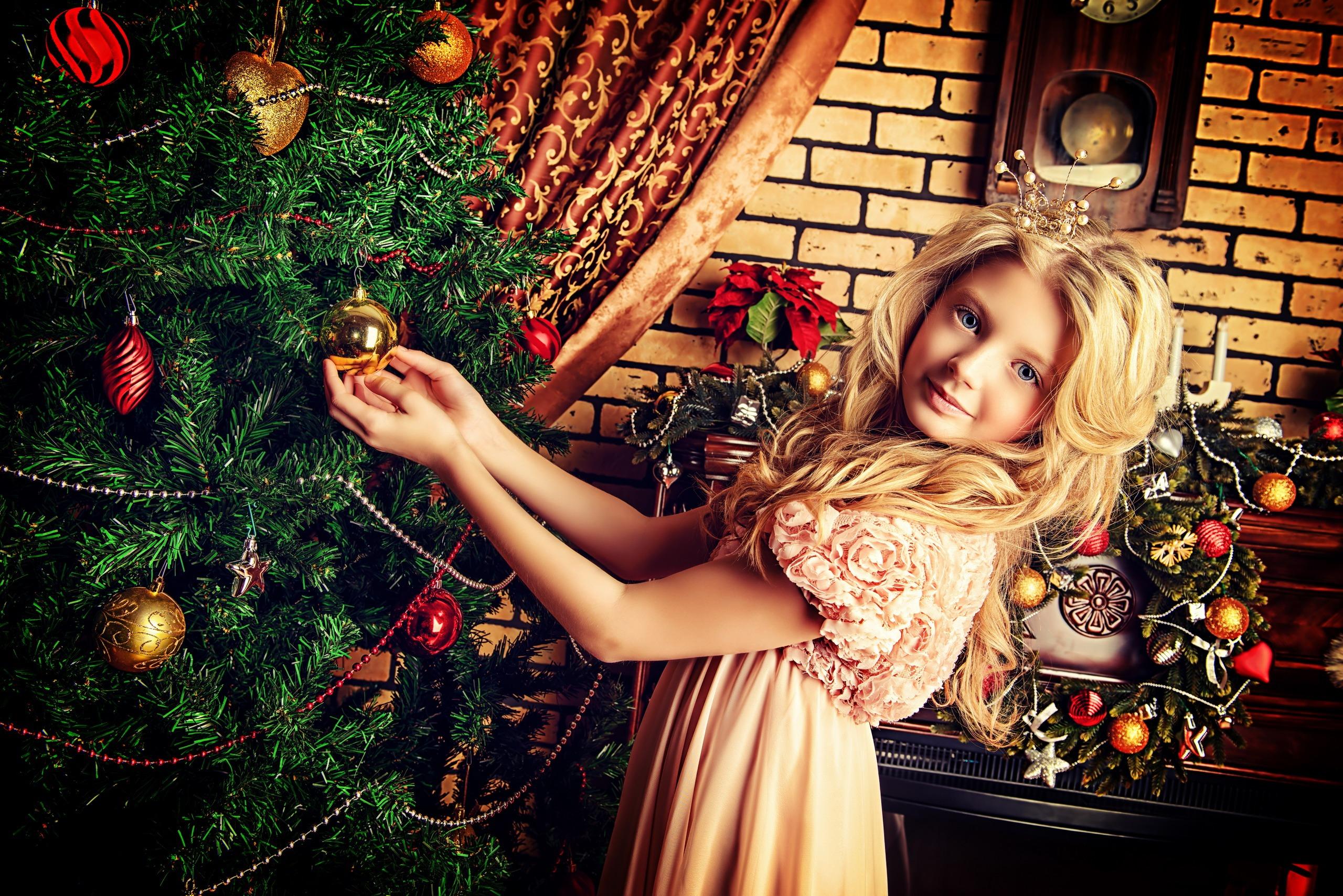 Прикольные картинки детей на новый год