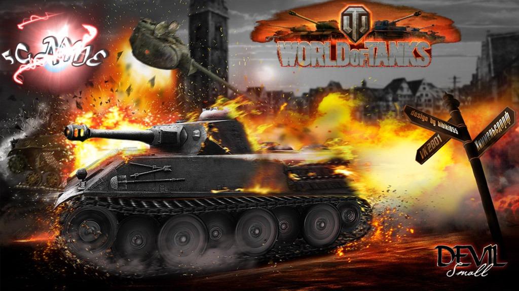 Кинематографические HD обои World of Tanks
