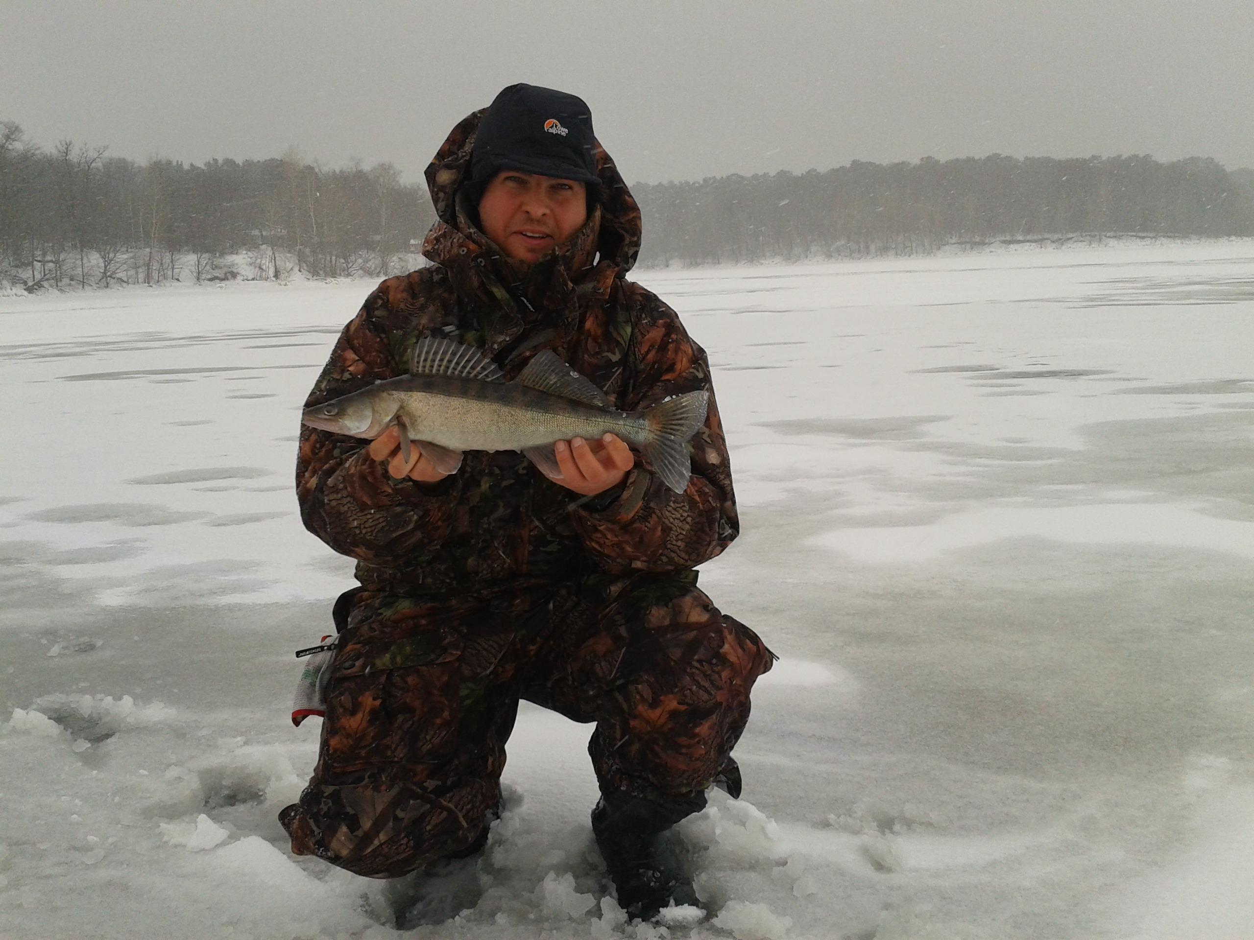 рыбалка до снега