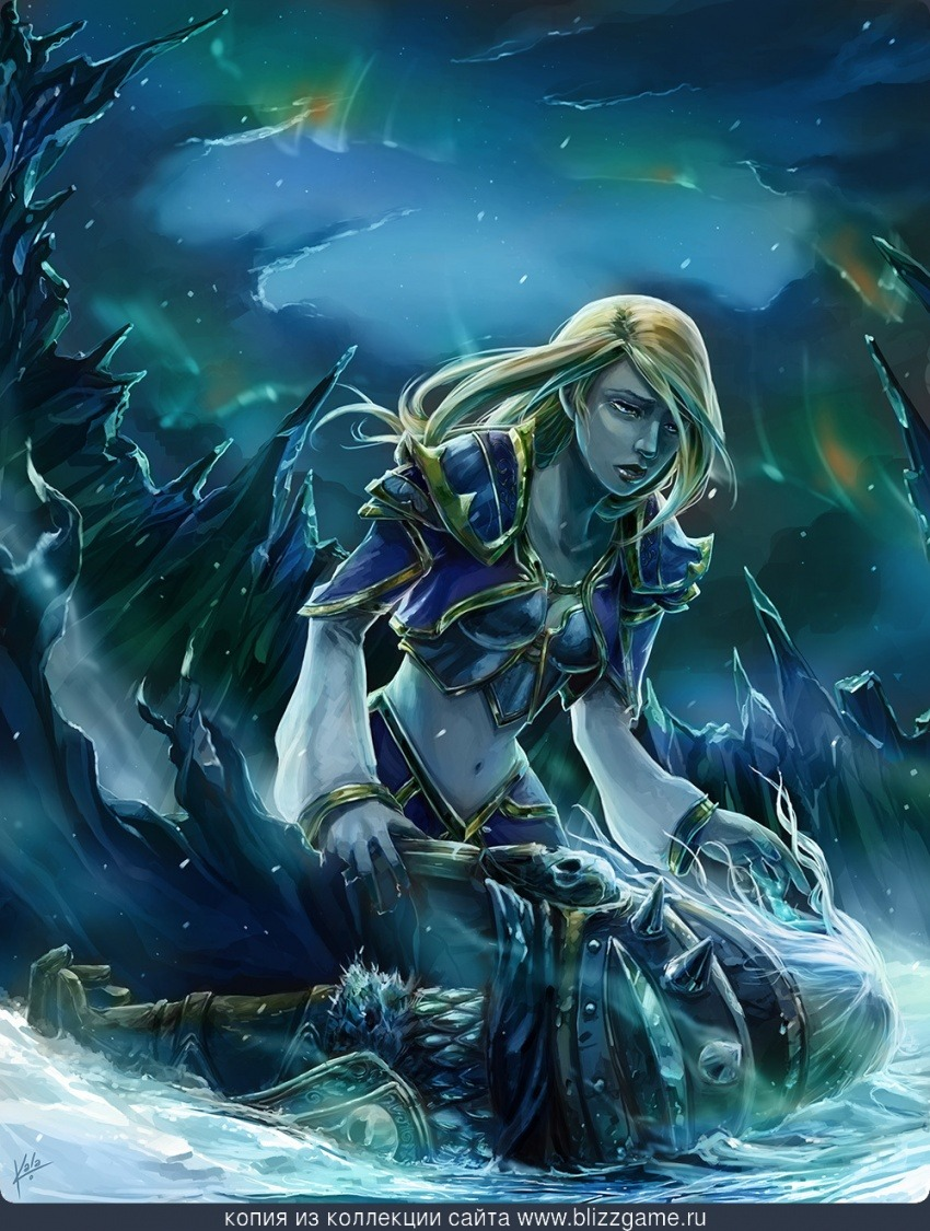 Download sleeping Lady Sylvanas and Jaina Proudmoore  hentay movies