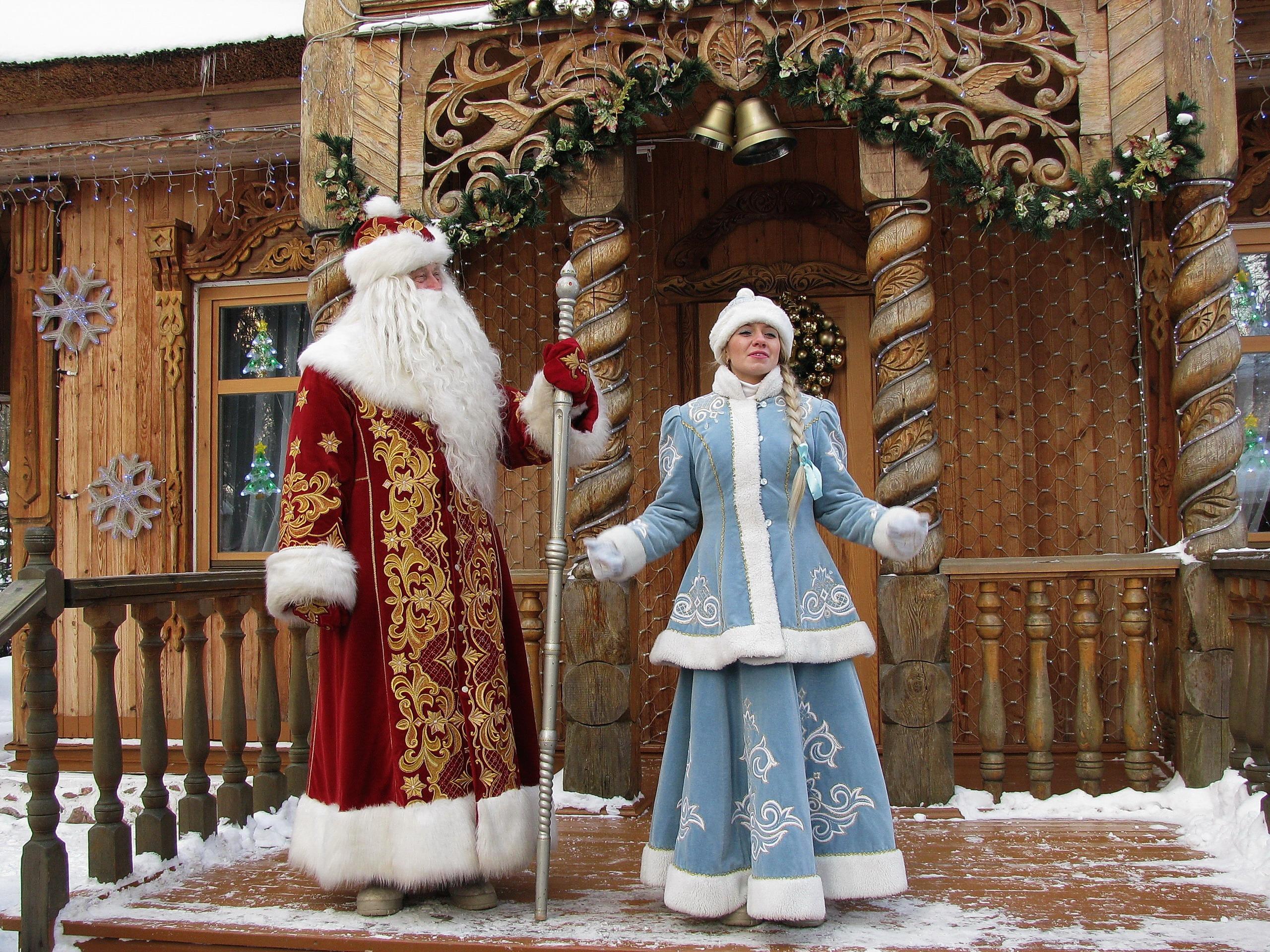 Дед мороз и снегурочка купить в туле
