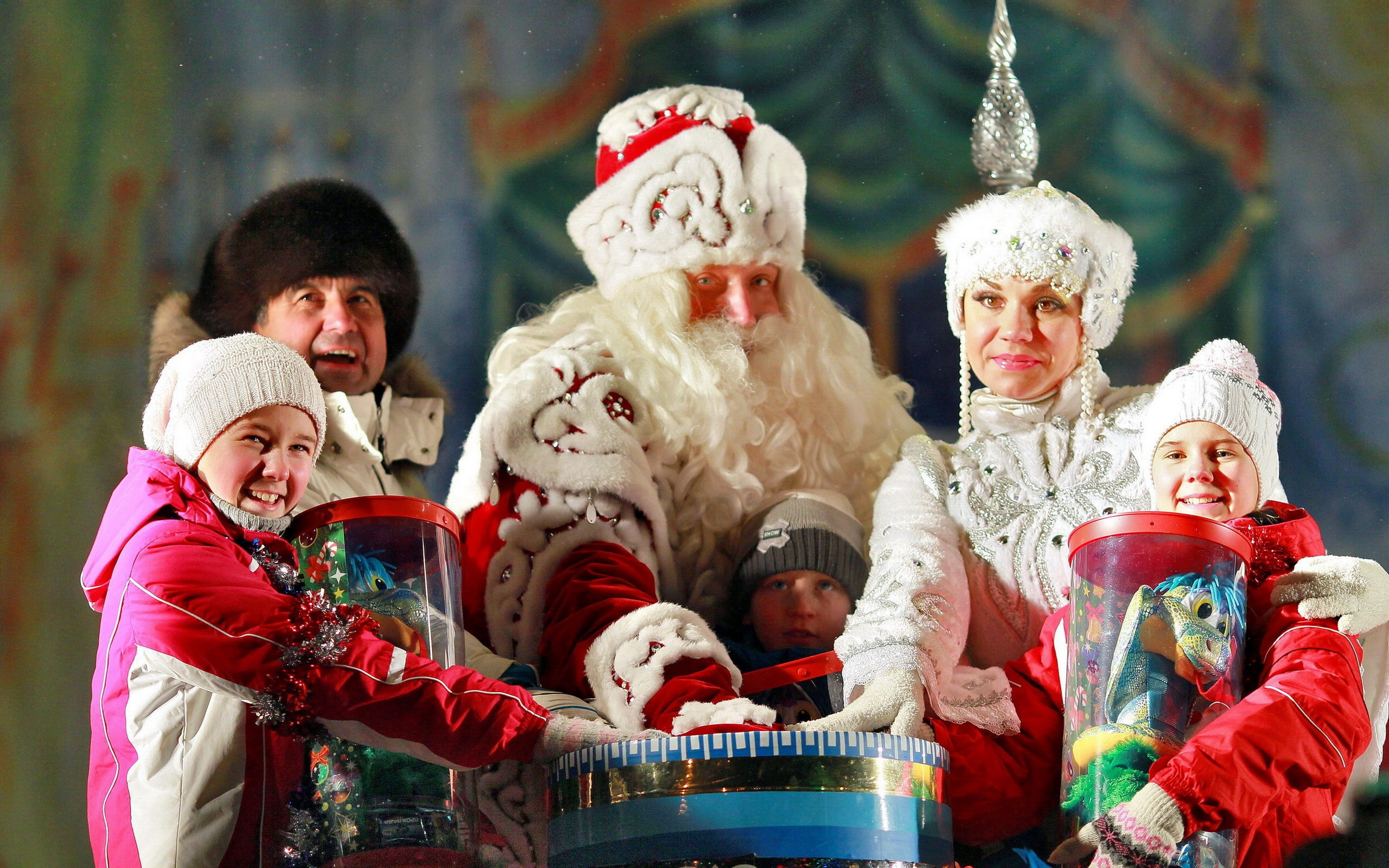 Картинки по запросу дед мороз и дети