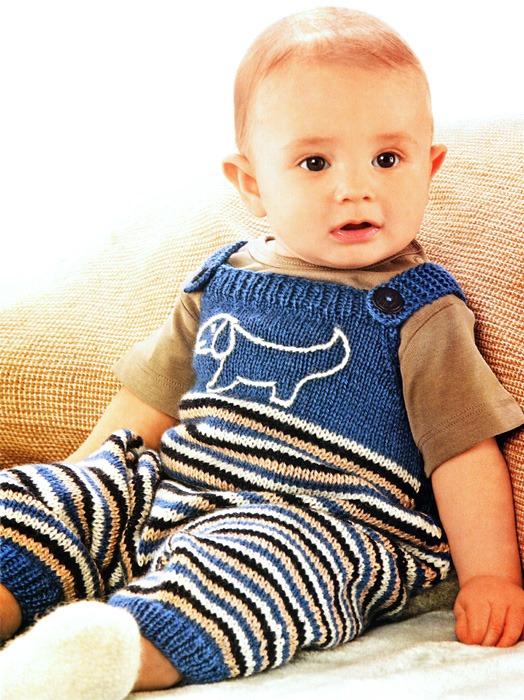 Вязание для малышей комбинезон Это изображение