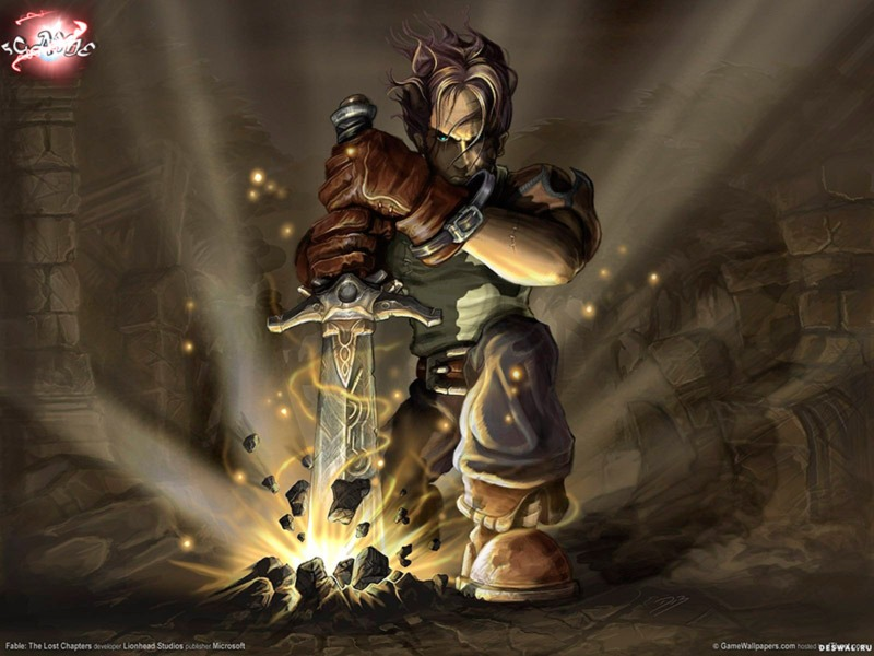 Игра Fable The Lost Chapters переиздаётся - релизный трейлер игры Fable Anniversary