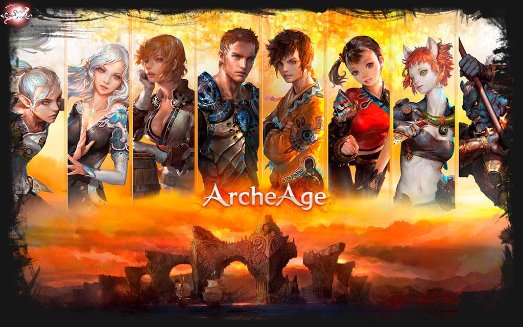 Маунты ArcheAge, а так же геймплей ArcheAge