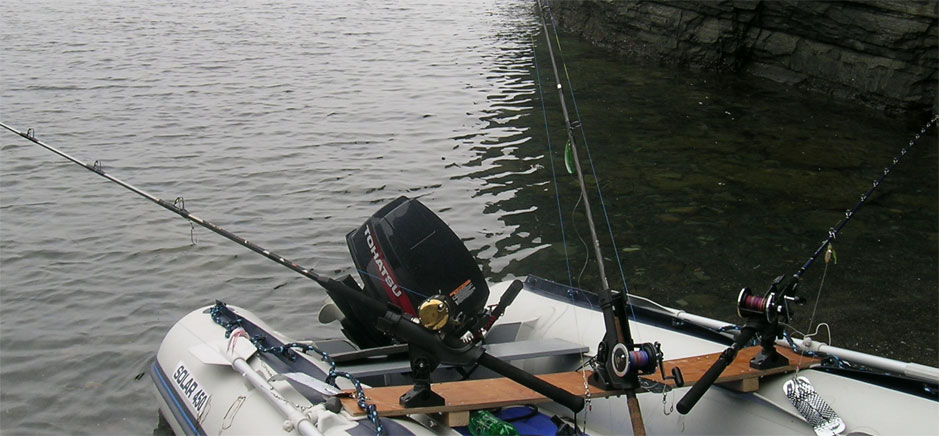 Держатель для удилища на лодку пвх своими руками