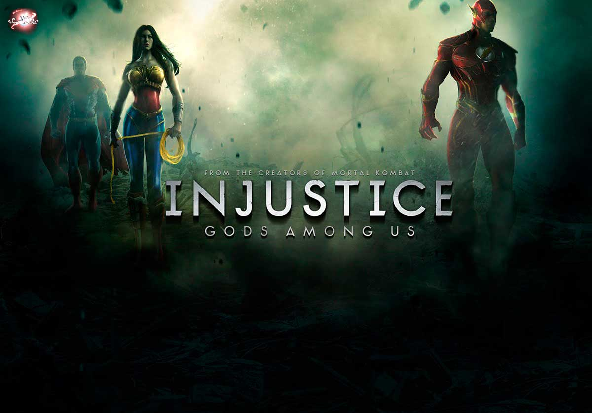�� �� ����� ������� - Injustice Gods Among Us