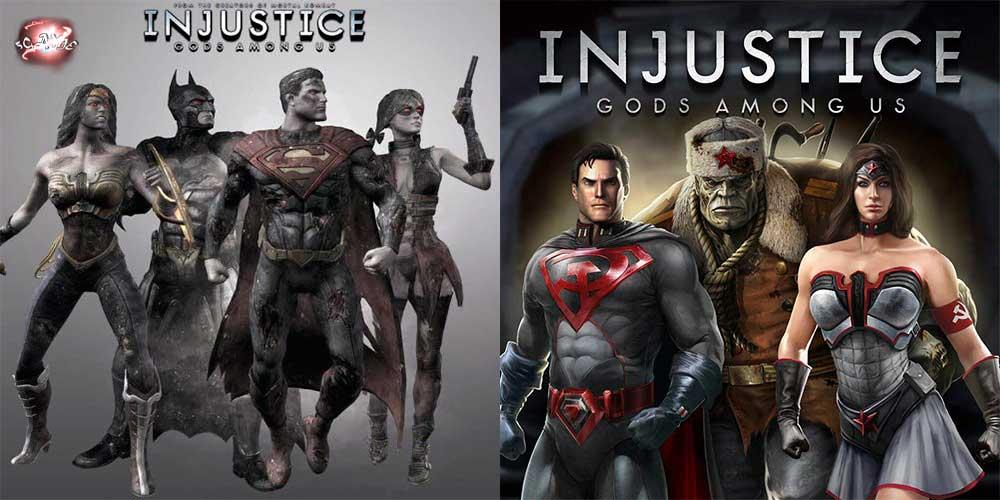 Injustice: Gods Among Us новые костюмы