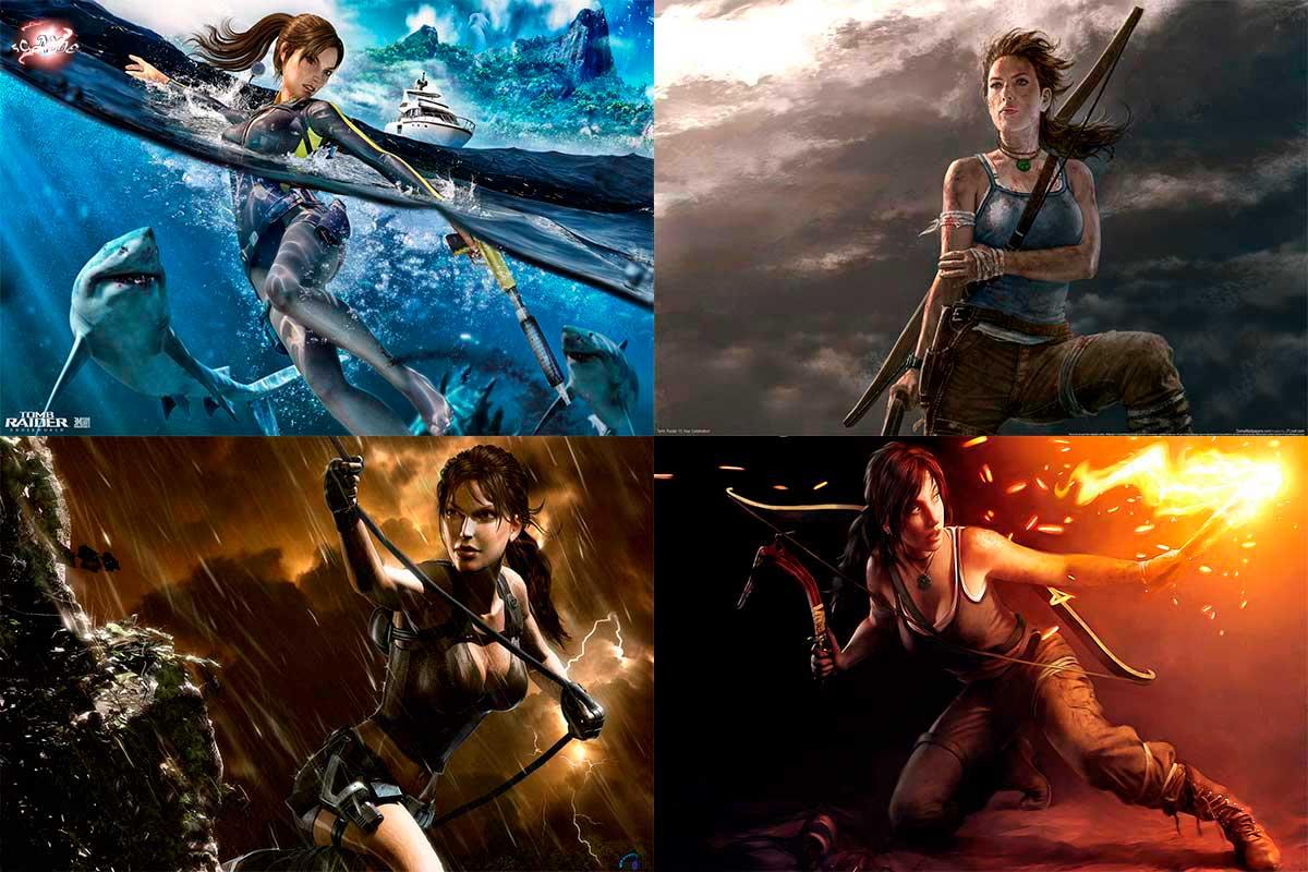 Обои Tomb Raider на рабочий стол