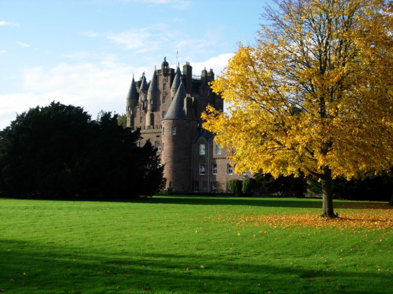 Шотландский замок Гламис