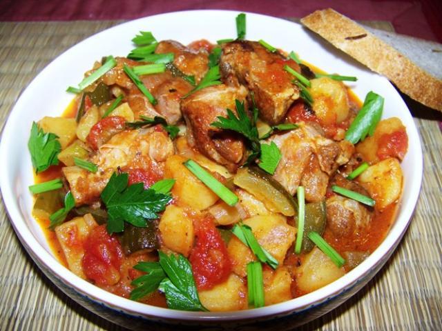 Азу по-татарски из говядины рецепт с фото пошагово