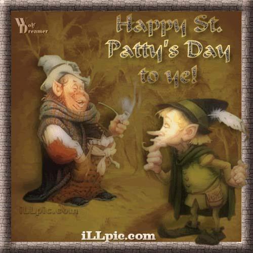 День Святого Патрика Анимированные Картинки Открытки