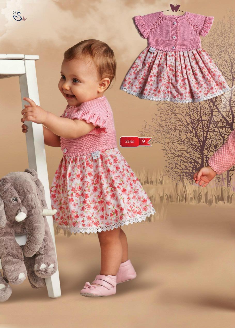 Как украсить вязаное детское платье своими руками фото