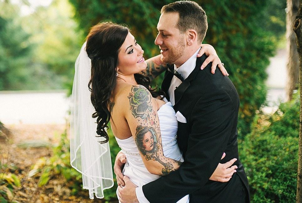 Невесты с татуировками фото