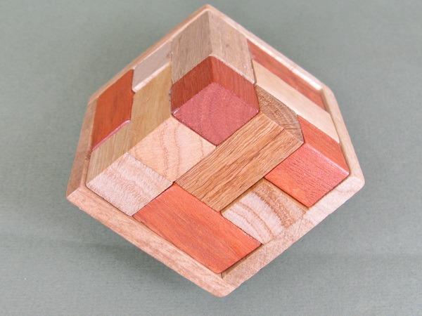 Занимательные головоломки №57 Кубики сома в перспективе