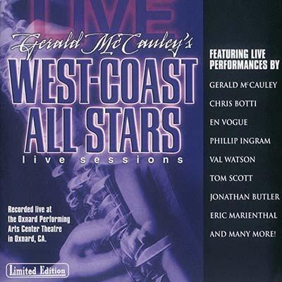 Gerald McCauleys West-Coast All Stars - Live Sessions [2004 г., Jazz, Mainstream Jazz, DVD5]