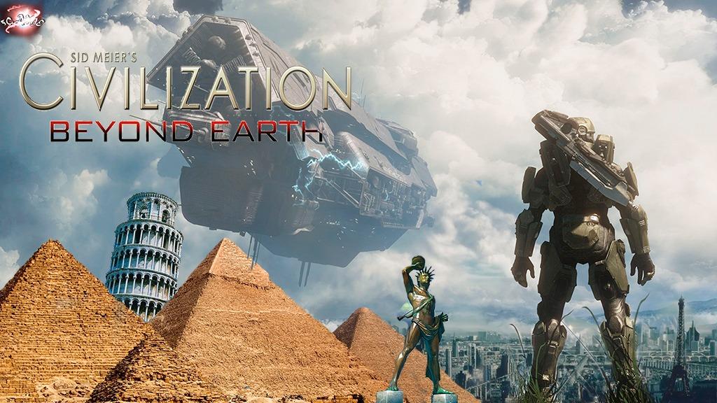Игра Civilization 6 - за пределами Земли