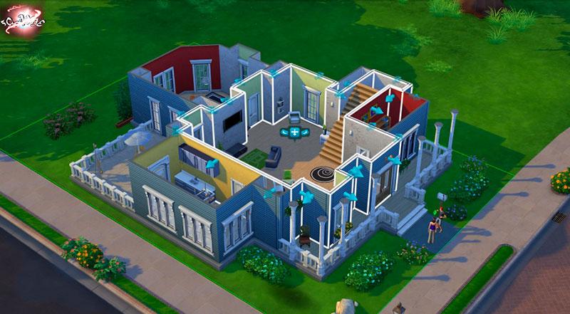 Строительство домов в Sims 4