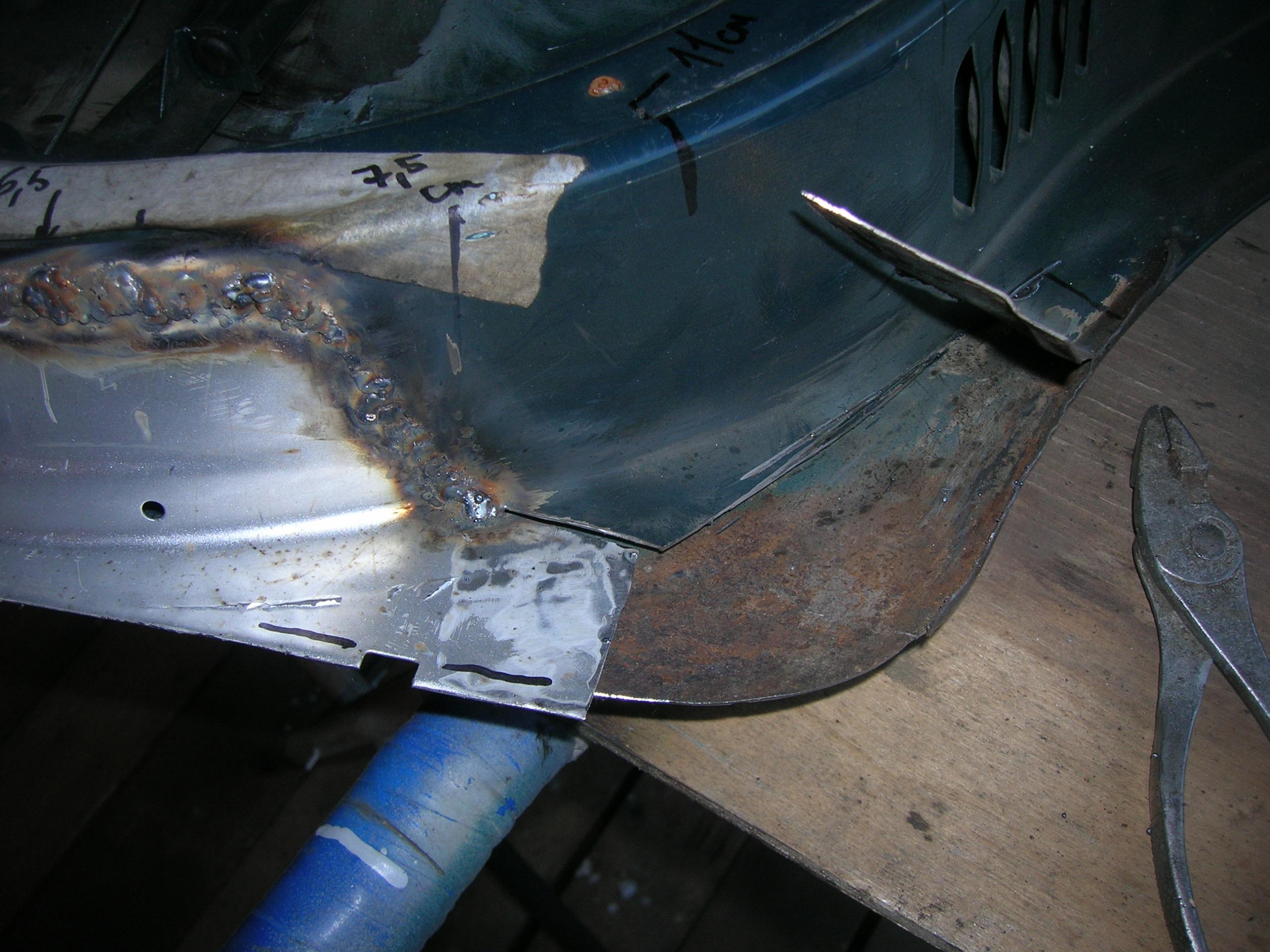 Ремонт порогов кузова автомобиля своими руками 885