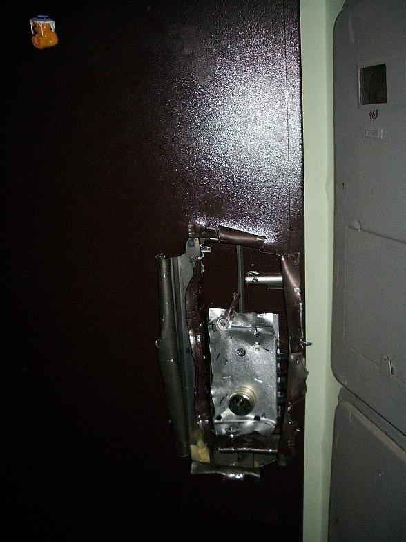 Взлом дверь