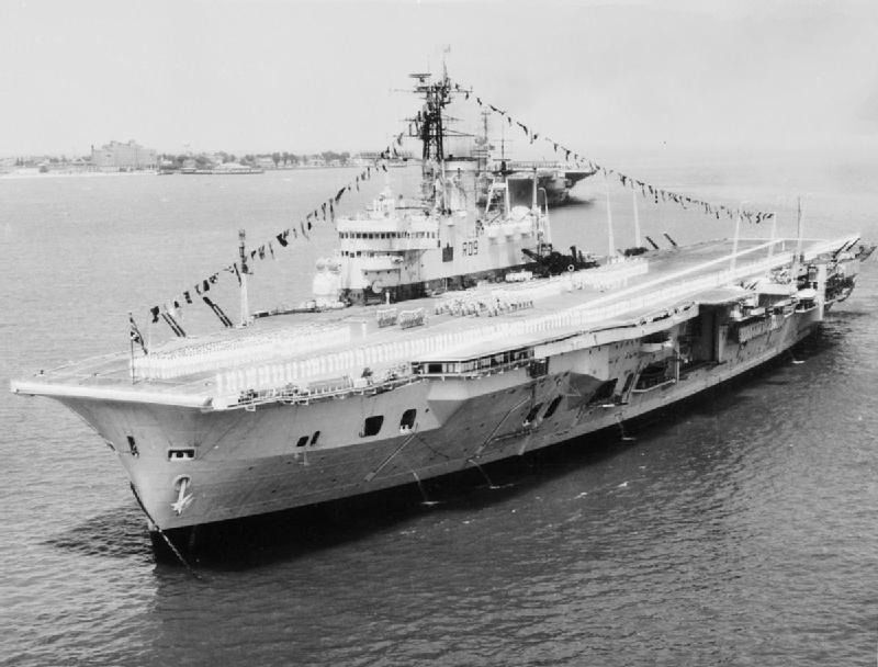 Ark Royal в 1957г