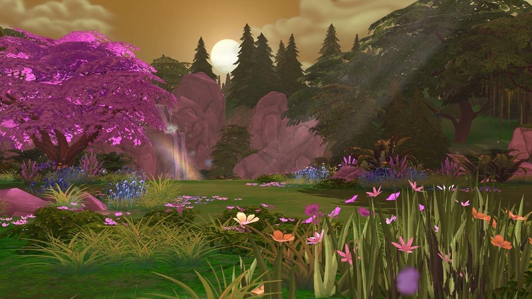 Секретные локации в Sims 4 2995733
