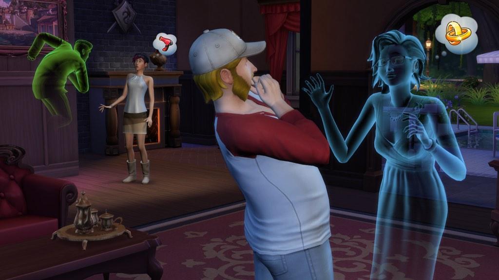 Sims 4 бассейны
