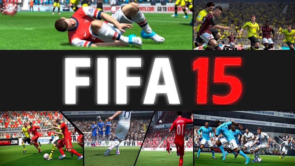 Футбольный симулятор FIFA 15