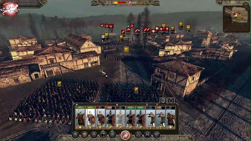 Городские бои Total War Attila