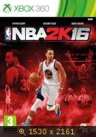 NBA 2K 16 обложка. 3458384