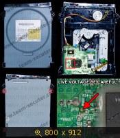 Применение Xecuter X360USB Pro для Lite-on DG-16D2S. Учебник по прошивке XBOX 360 Phat консолей. 467945