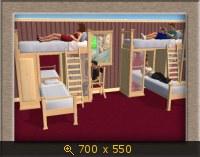 Как сделать в симс 4 двухэтажную кровать