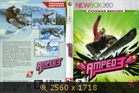 Amped 3 обложка к игре XBOX360. 75079