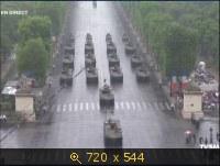Парад в честь Дня взятия Бастилии / Plateaux Defile 14 Juillet 2010 (2010) TVRip