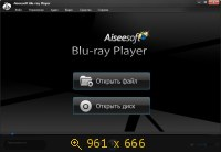 Aiseesoft Blu-ray Player v6.1.36 Final + Portable (2013) Русский
