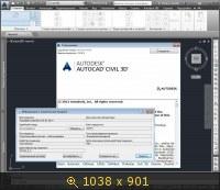 Autodesk AutoCAD Civil 3D 2014 AIO (2013) by m0nkrus