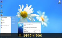 Windows 7 Ultimate SP1 x64 [ v.03.07 ] by DDGroup (2013) Русский
