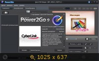CyberLink Power2Go Platinum 9.0.0809.0 Portable by Baltagy Русский