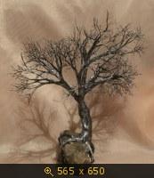 Вот оно, мое металлическое дерево.