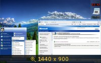 Microsoft Windows XP Professional x64 Edition SP2 VL RU SATA AHCI X-XIII by Lopatkin (2013) Русский