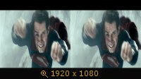 Человек из стали 3Д / Man of Steel 3D Горизонтальная анаморфная