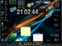 Windows 7 SP1 x86+x64 Ultimate MoN Edition 2.08 (2013) Русский
