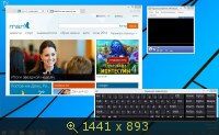 Windows 8.1 Core 6.3.9600 х64 RU XXX XI-XIII by Lopatkin (2013) Русский